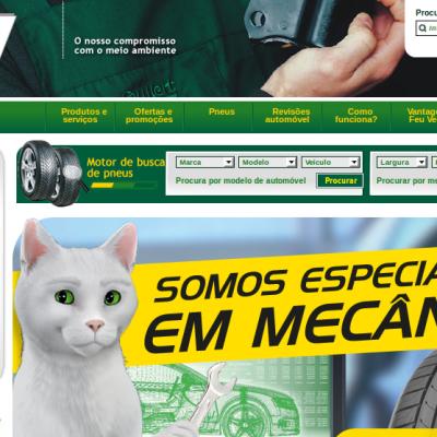 Site Internet de Feu Vert au Portugal