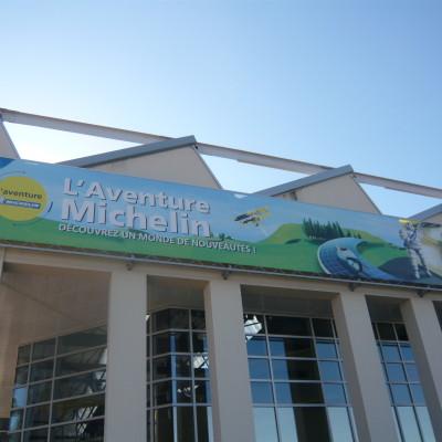 Entrée du musée MICHELIN