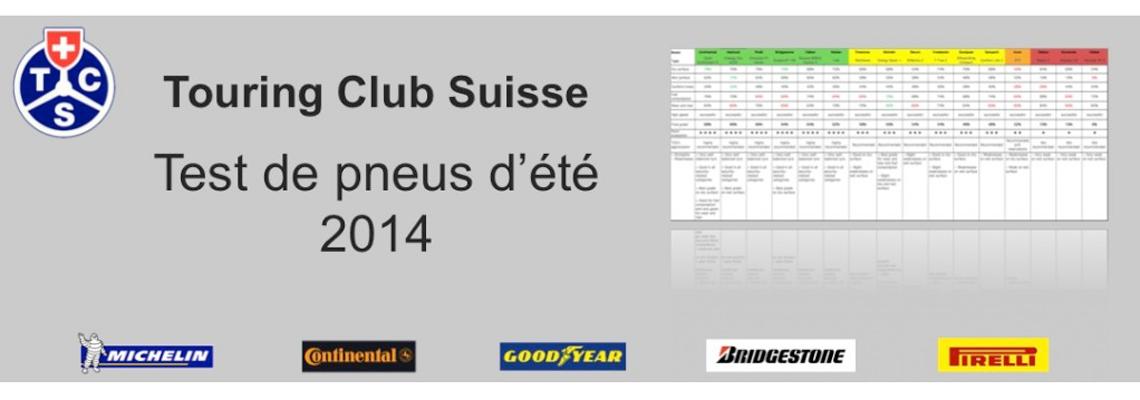 touring club suisse test pneus t 2014 blog quelpneu. Black Bedroom Furniture Sets. Home Design Ideas