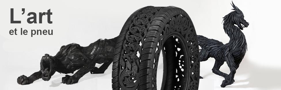 L'art et le pneu : Des artistes gonflés à bloc