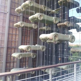 Visite de la Cité de l'automobile de Mulhouse