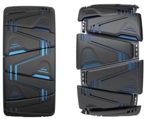 Le pneu concept Maxplo via Kumho