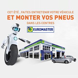 Achetez vos pneus sur Allopneus, montez les chez Euromaster